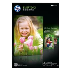 Papier fotograficzny HP Everyday, błyszczący – 100 arkuszyA4210 x 297 mm