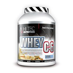 HI-TEC Whey C6 2250 - Marzipan