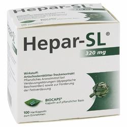 Hepar Sl 320 mg kapsułki twarde