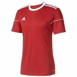 adidas Juniorska Koszulka Piłkarska Squadra 17 Jersey BJ9174 - Czerwony