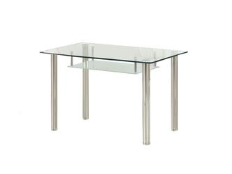 Stół szklany Olivier bezbarwny