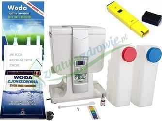 Jonizator wody biontech btm-3000 naczyniowy 4 litry, model 2019 + 6 gratisów miernik ph, 2x książka, 2x broszura, sól himalajska
