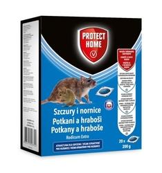 Rodicum extra – pasta trutka na szczury i nornice – 200 g 20x10 g protect home