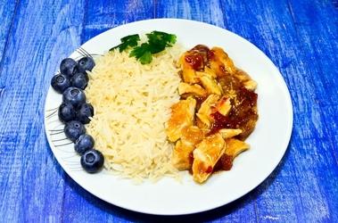 Fototapeta dietetyczne danie z ryżem fp 961