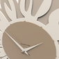 Zegar ścienny sunflower calleadesign caffelatte 10-106-14