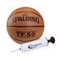 Piłka do koszykówki spalding tf-50 + pompka