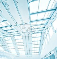 Fototapeta perfect niebieskie szkło wieżowiec korporacyjnych budynku