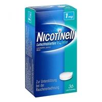 Nicotinell pastylki do ssania miętowe 1 mg