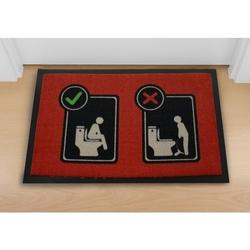 Toaleta instrukcja obsługi - wycieraczka