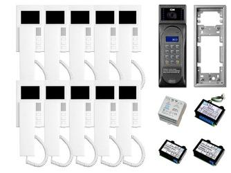 Wideodomofon wielolokatorski 10-rodzinny cyfrowy aco cdnv - szybka dostawa lub możliwość odbioru w 39 miastach