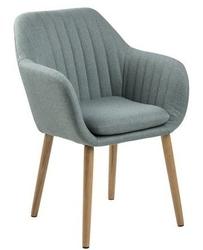 Tapicerowane krzesło z przeszyciami bristol 4 dusty olive