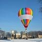 Lot balonem dla dwojga - poznań