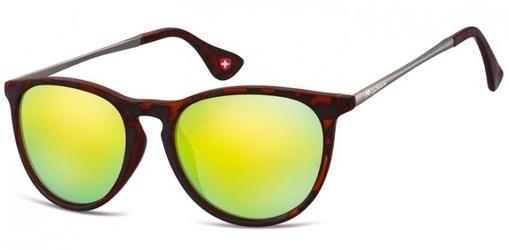 Damskie okulary przeciwsloneczne lustrzanki ms24c