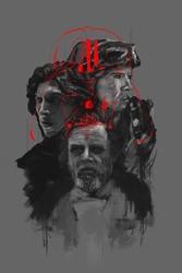 Star wars gwiezdne wojny iii generacja - plakat premium wymiar do wyboru: 20x30 cm