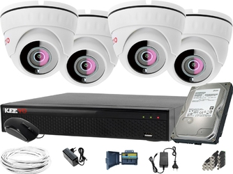 5 megapikseli zestaw do monitoringu: rejestrator lv-xvr44se-ii, 4x kamera lv-al5m3df-ii, 1tb, akces
