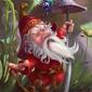 Krasnoludek - plakat premium wymiar do wyboru: 40x50 cm