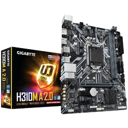 Gigabyte Płyta główna H310M A 2.0 s1151 2DDR4 DPHDMIUSB3M.2 UATX
