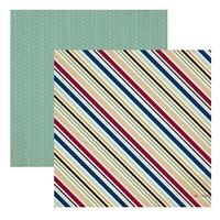 Papier 30,5x30,5 cm Getaway - Travel Stripe - 05