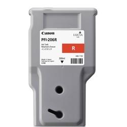Tusz oryginalny canon pfi-206r 5309b001aa czerwony - darmowa dostawa w 24h