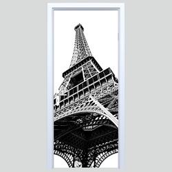 Naklejka na drzwi Wieża Eiffla 251s