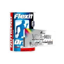 Nutrend flexit drink 400 + vita-min multiple sport 60 limited