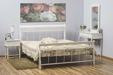 Łóżko florencja 160x200 białe