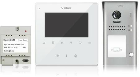 Wideodomofon VIDOS DUO M1022W  S1101A - Szybka dostawa lub możliwość odbioru w 39 miastach