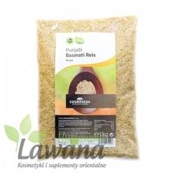 Brązowy ryż punjabi basmati organiczny 1kg cosmoveda