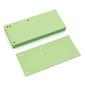 Przekładki kartonowe donau 13 a4 - pastelowe zielone