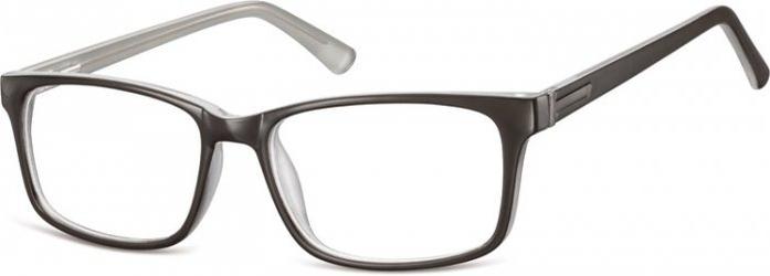 Oprawki optyczne korekcja sunoptic cp150b czarno-szare
