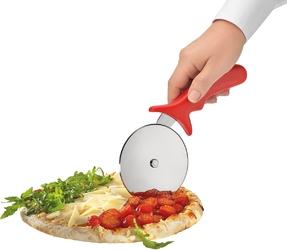 Nóż okrągły do pizzy italia kuchenprofi zielony ku-0805000000-zie