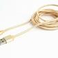 Gembird Kabel Micro USB oplot tekstylny1.8mzłoty