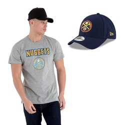 Koszulka + czapka new era nba denver nuggets - denver nuggets