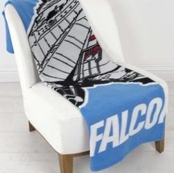 Kocyk polarowy gwiezdne wojny star wars 100x150cm falcon