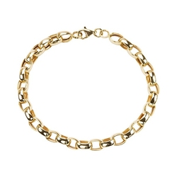 Staviori bransoleta ogniwa 19cm. żółte złoto 0,585.