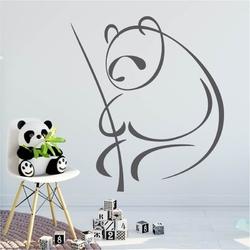 Szablon na ścianę panda 2006