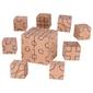 Drewniane klocki układanka geometryczna