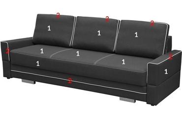 Sofa rozkładana doha z pojemnikiem