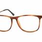 Oprawki korekcyjne nerdy zerówki sunoptic cp142g brązowe - imitacja drewna