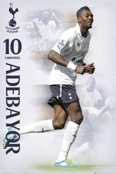 Tottenham hotspurs adebayor 1112 - plakat
