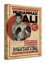 Muhammad Ali Retro - Corbis - Obraz na płótnie