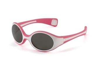 Różowo białe okularki przeciwsłoneczne s dla niemowląt
