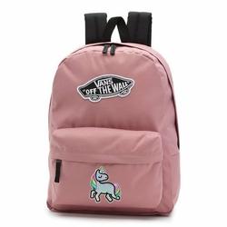 Plecak szkolny Vans Realm Nostalgia Rose Custom Rainicorn - VN0A3UI6UXQ