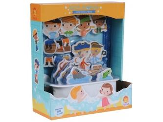Piraci piankowe postaci do zabawy w kąpieli