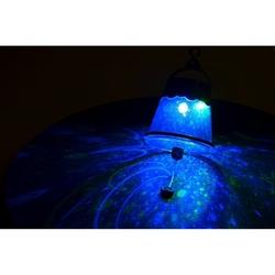 Namiot z efektami świetlnymi
