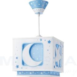 Moonlight -księżyc lampa wisząca niebieski