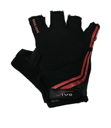 Rękawiczki rowerowe vivo czarno-czerwone sb-01-5038-b