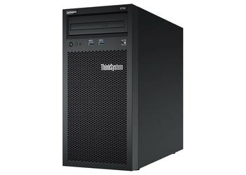 Lenovo Serwer ThinkSystem ST50, 1xIntel Xeon E-2124G 4+2C 3.4GHz 71W, 1x8GB,  1Rx8, 2x2TB 7200, SW RD 7Y48A007EA