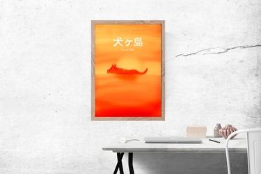 Wyspa psów - plakat premium wymiar do wyboru: 29,7x42 cm