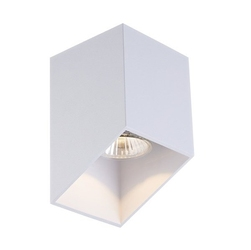 Lampa wewnętrzna spot quby biała
